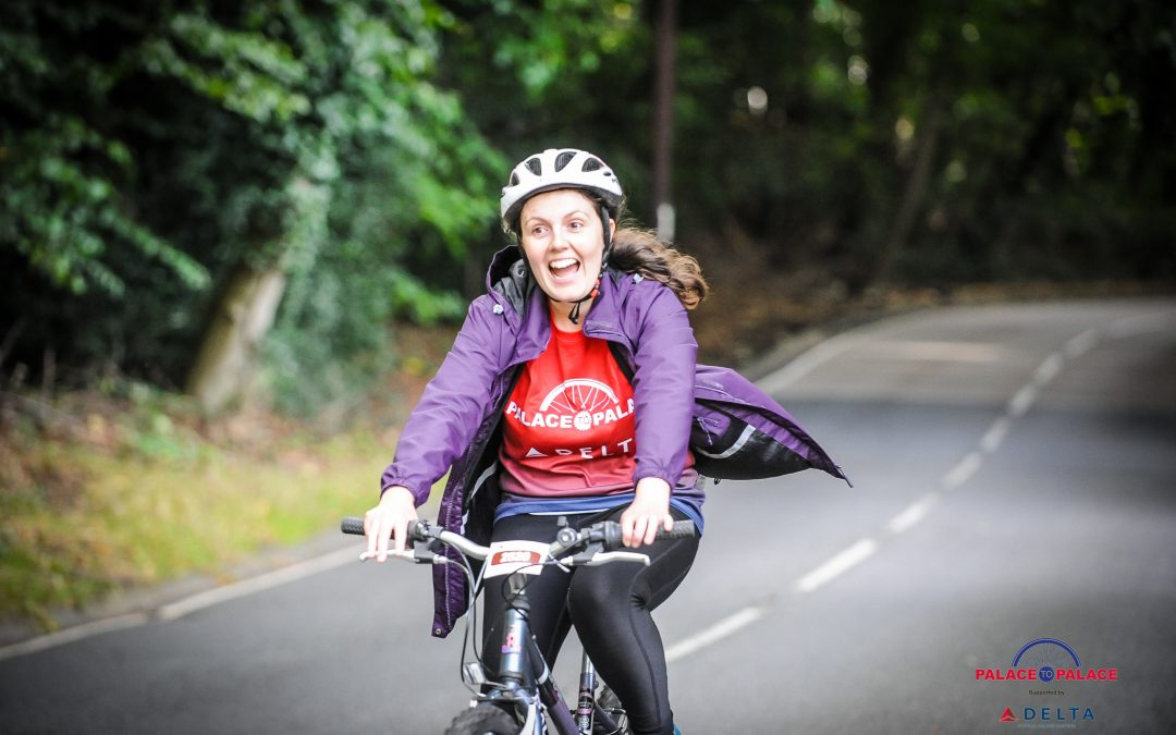 On yer bike! Palace to Palace – The Princes Trust
