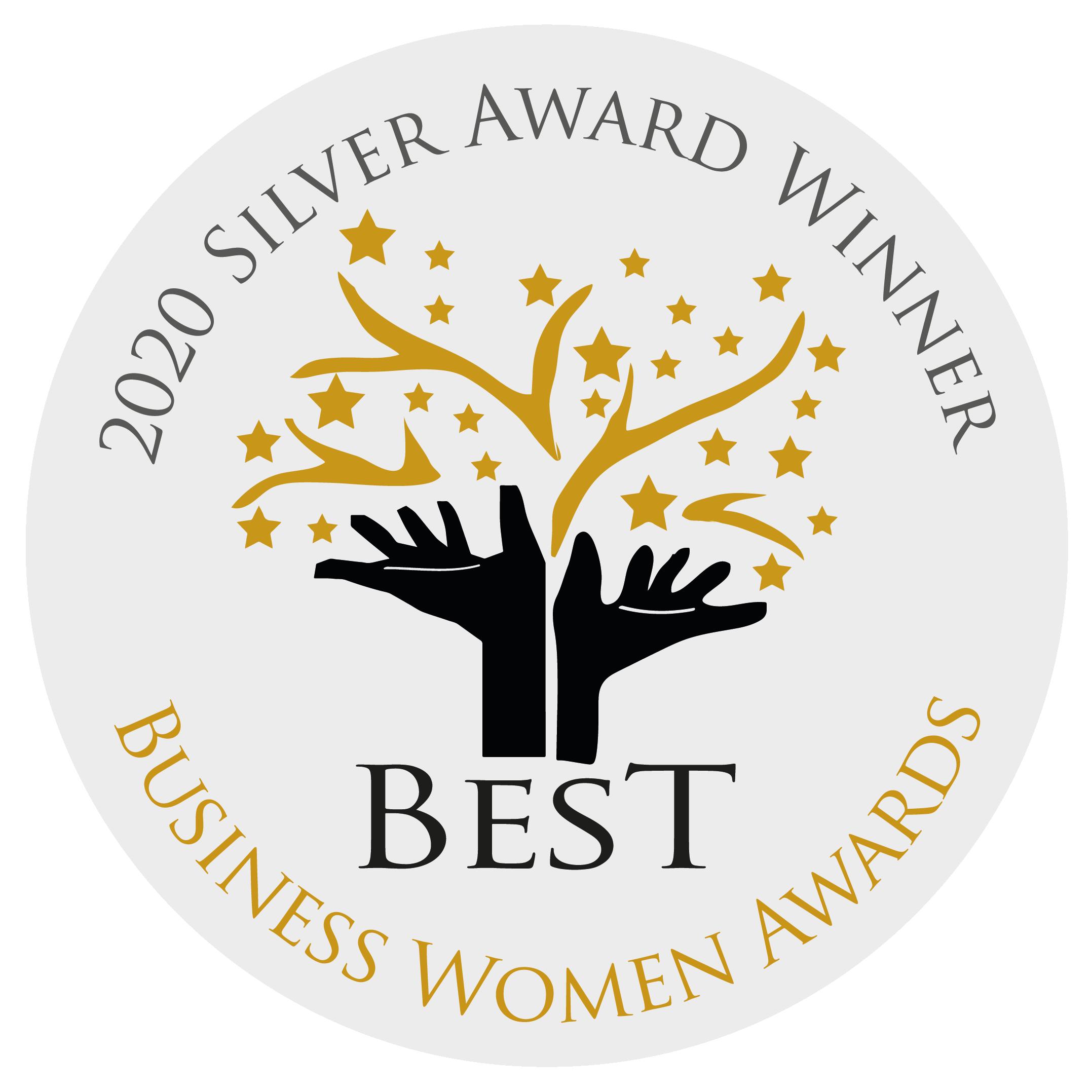 Silver Best Business Women Awards